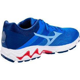 Mizuno Wave Inspire 16 Shoes Women, patriot blue/dellarobbiablue/diva pink